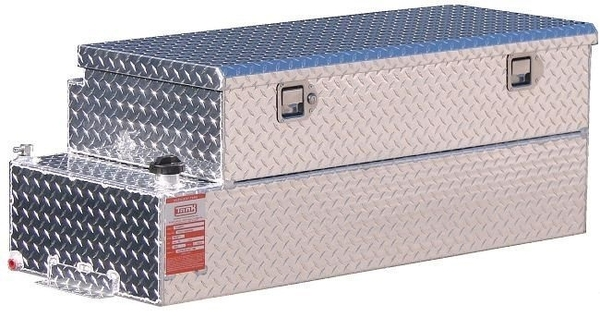 Diesel Auxiliary Fuel Tank Toolbox Combo