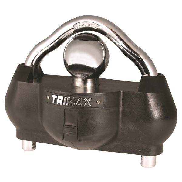 TRIMAX The Ultimate Universal Solid Hardened Steel Unattended Trailer Lock