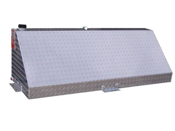 Aluminum 60 Gallon Auxiliary Diesel Fuel Tank Wedge Shape