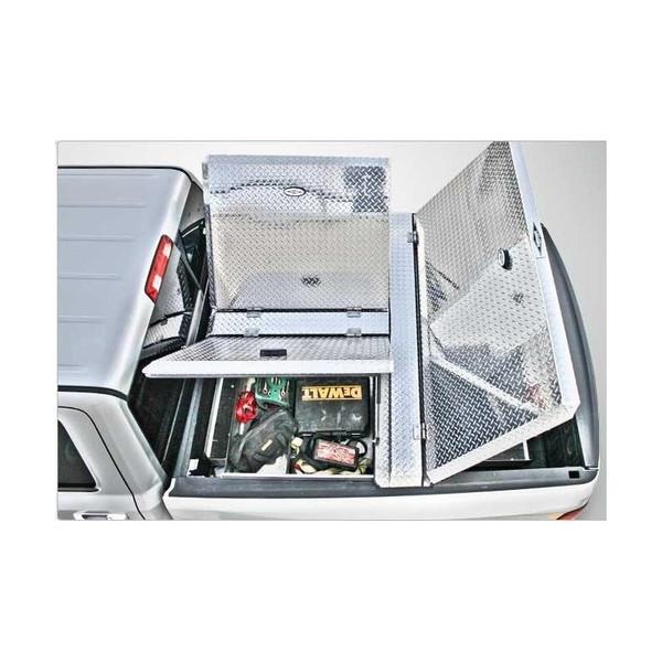 270 Aluminum Truck Bed Cover closed