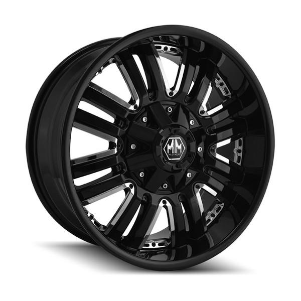 Mayhem Mattle Black Assault Wheels 01