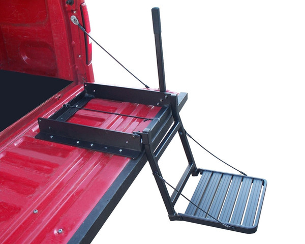 Tailgate Ladder for Trucks with Bed Covers