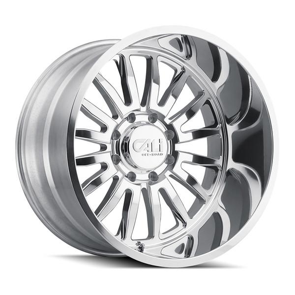 Cali Offroad Polished Summit Wheels 01