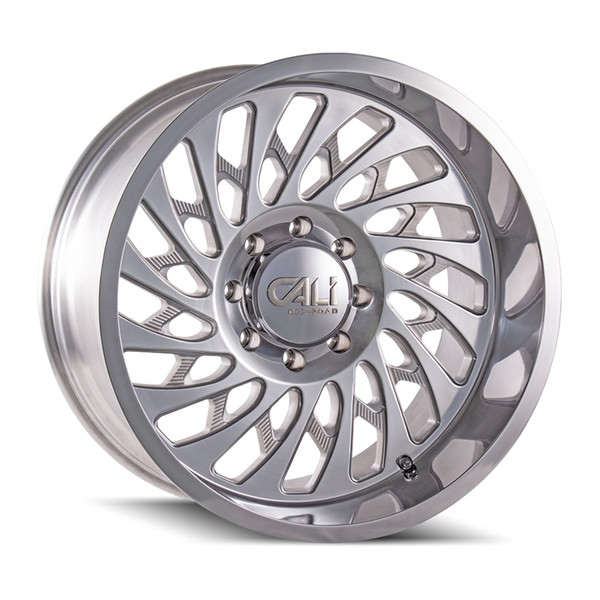 Cali Offroad Polished Switchback Wheels 01
