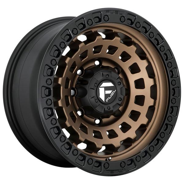 Fuel Bronze Zephyr Wheels