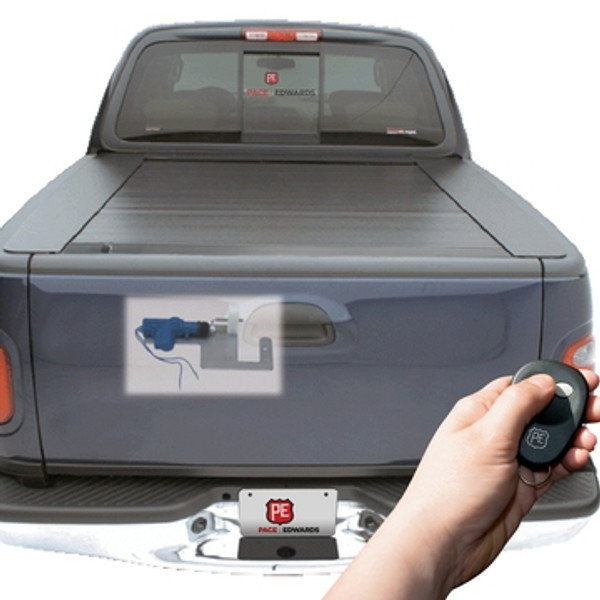 PowerGate mounts on the inside of the tailgate and wires to your trucks door locks