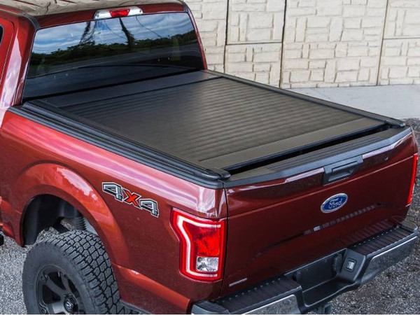 UltraGroove Hard Retractable Rack Compatible Truck Bed Cover