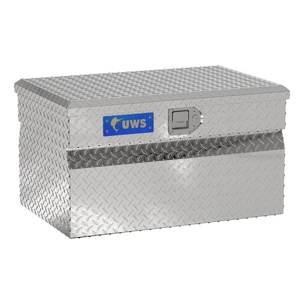 Bright Aluminum Utility Chest Box