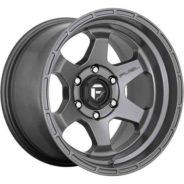 Fuel Grey Shok Wheels