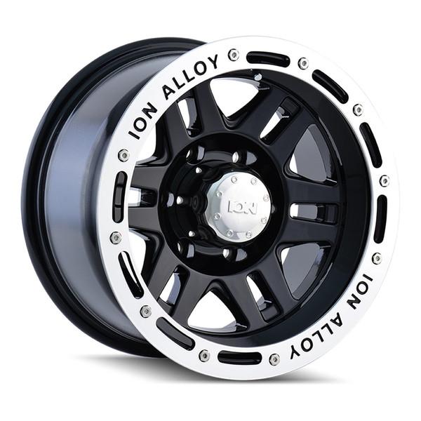 Ion Machined Gloss Black 133 Wheels 01