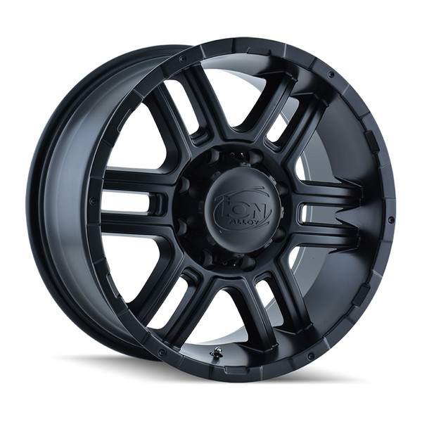 Ion Matte Black 179 Wheels