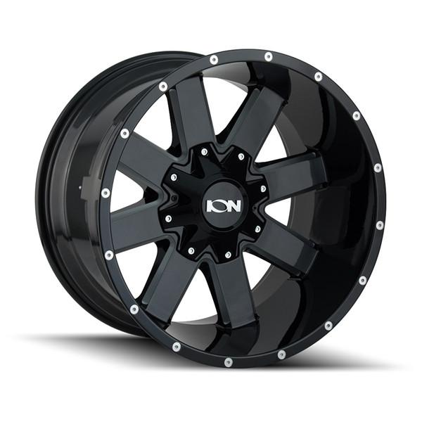 Ion Machined Gloss Black 141 Wheels 01