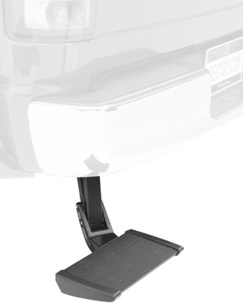 TrekStep Retractable Bumper Mounted Bed Step