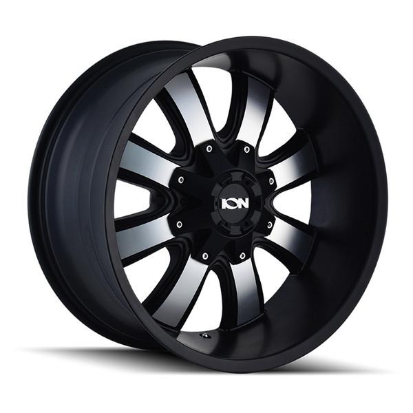 Ion Machined Matte Black 189 Wheels