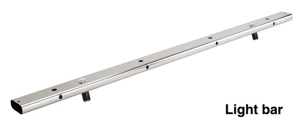 Light Mounting Bar for Single, Double and Triple Go Rhino Bed Bars