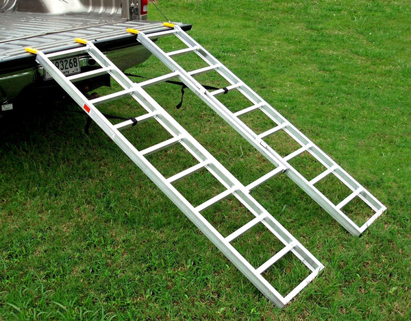 LoadLite Aluminum Tri-Fold Loading Ramps