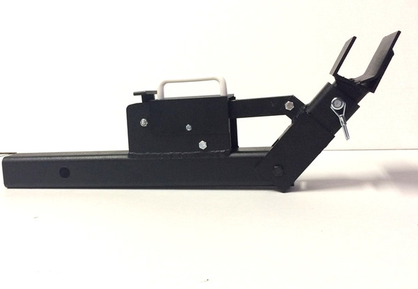 Tote Caddy Hitch Mounted Trash Can Transporter
