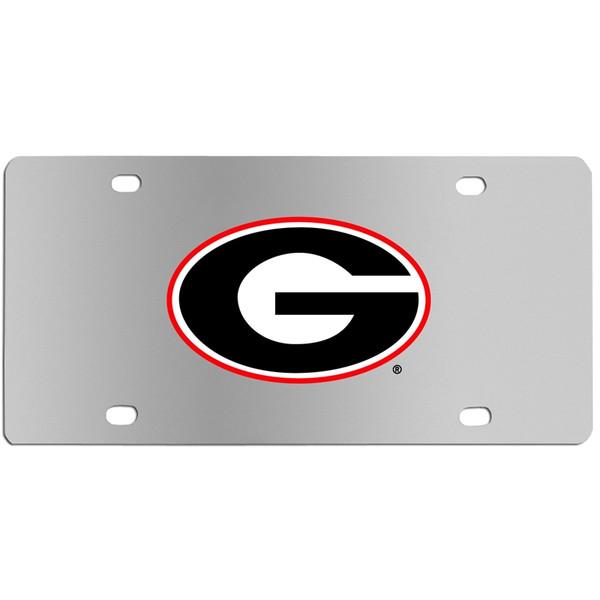 Georgia Bulldogs Steel License Plate