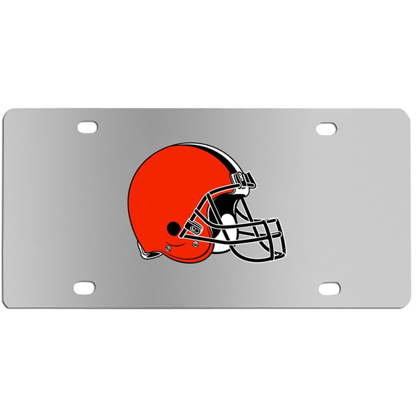 Cleveland Browns Steel License Plate