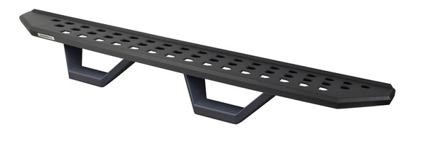 RB0 Black Cab Length Running Boards With 4 Drop Steps