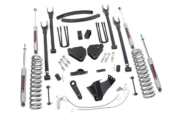 Rough Country 6in 4-Link Suspension Lift Kit RCL-584.20 01