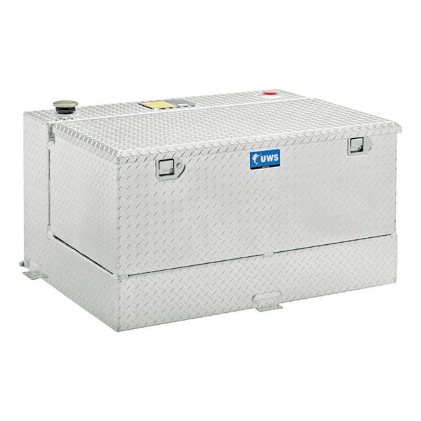 UWS Aluminum Transfer Fuel Tank and Toolbox Combo