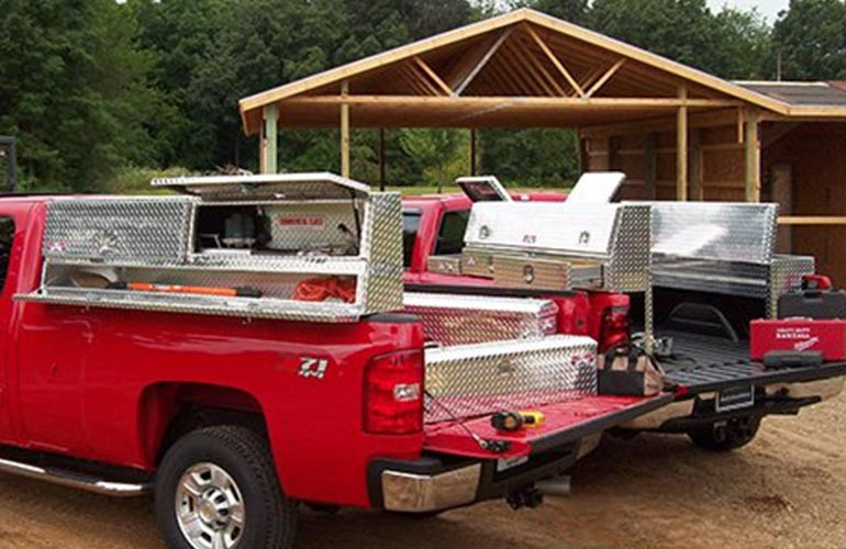 Buyers Product High Side Tool Boxes vs Brute High Side Tool Boxes
