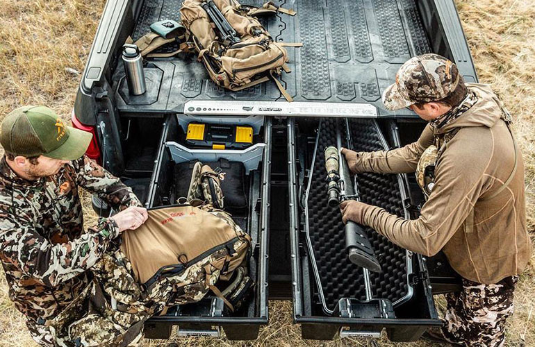 Vehicle Gun Safes and Storage
