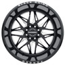 Black Rhino Twister Milled Gloss Black Wheels