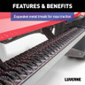 Luverne Slimgrip 5 Inch Textured Black Running Boards Expanded Metal Tread