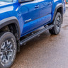 Luverne Slimgrip 5 Inch Textured Black Running Boards Blue Toyota Tacoma Detail