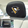 Pittsburgh Penguins NHL Head Rest Cover-2