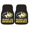 Michigan Tech 2pc Carpeted Car Mats