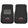 Miami Heat NBA 2pc Embroidered Car Mats