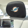 Miami Dolphins NFL Head Rest Cover-2