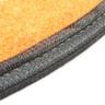 Wake Forest 2pc Carpet Car Mat Set-3