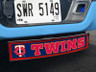 Minnesota Twins MLB Light Up Hitch Cover