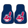 Cleveland Indians MLB 2pc Carpeted Car Mats