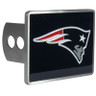 New England Patriots Hitch Cover Class II and Class III Metal Plugs