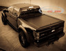 American Roll Cover Retractable Truck Bed Covers Matte Black