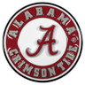 Alabama Crimson Tide Hitch Cover Class II and Class III Metal Plugs