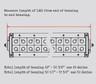 Measure light Bar Length