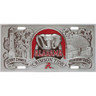 Alabama Crimson Tide NCAA Collector's License Plate