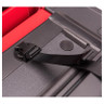 The all-new integrated buckle system secures the cover in the folded position