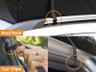 Roof Rack or Car Clip Mounting