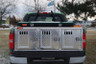 Hunter Series Dog Box Triple Compartment - Without Top Storage