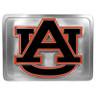 Auburn Tigers NCAA Hitch Cover Class II and Class III Metal Plugs