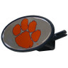 Clemson Tigers Plastic Hitch Cover Class III