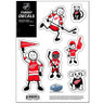 Detroit Red Wings Family Decal Set