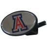Arizona Wildcats Plastic Hitch Cover Class III